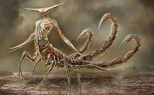 12 Zodiac Signs Reborn As Terrifying Monsters By Damon Hellandbrand
