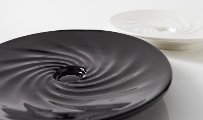 Ideas Kitchen Plate 'blackhole Plate'