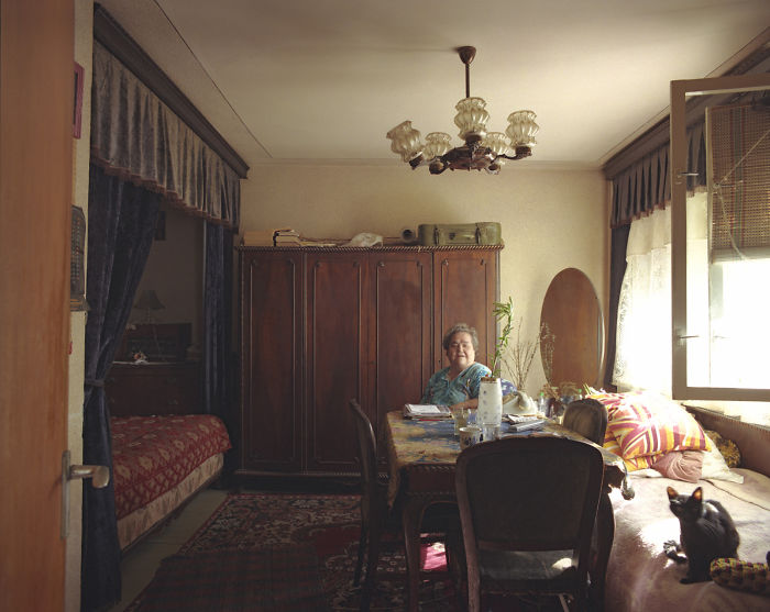 10 Identical Apartments, 10 Different Lives, Documented By Romanian Artist