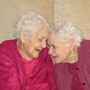 The World's Oldest Identical Twin Sisters Have Spent 103 Years Taking Care Of Each Other Every Day