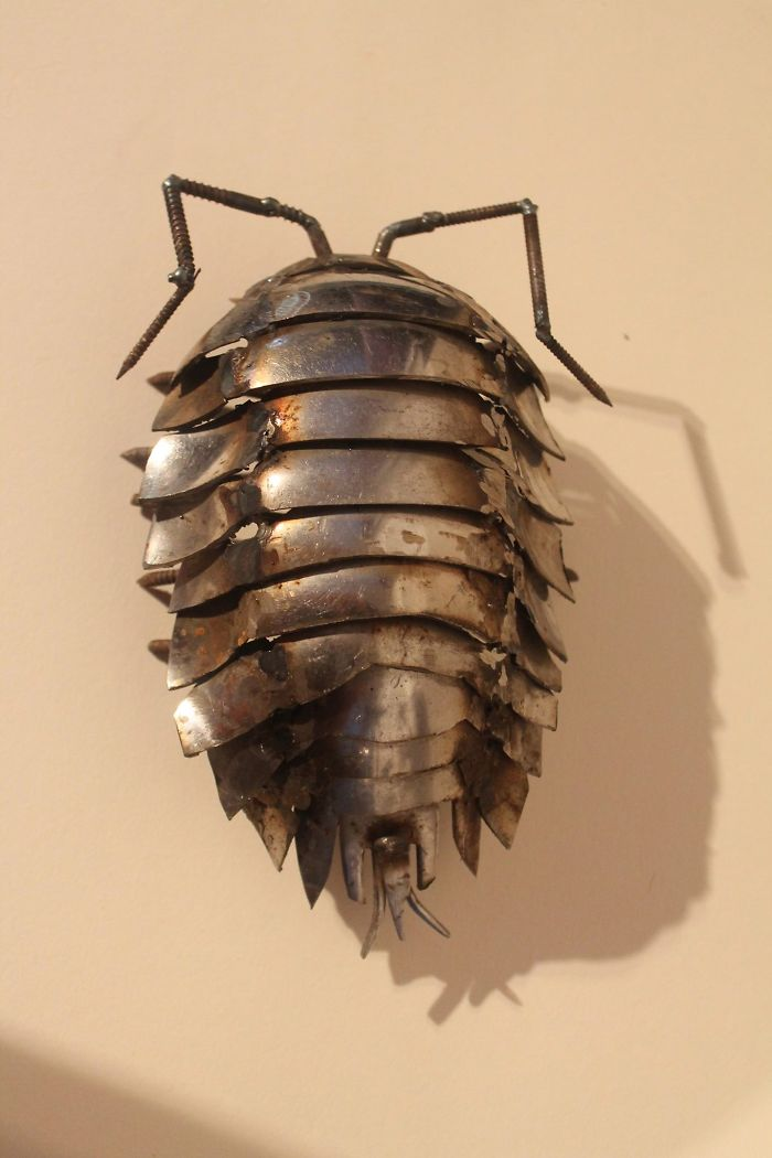 Scrap Metal Woodlouse