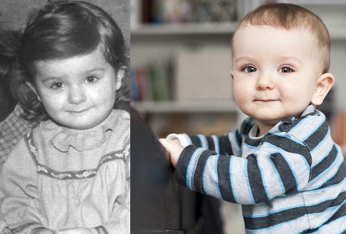 1986 Vs 2011: Mother + Son