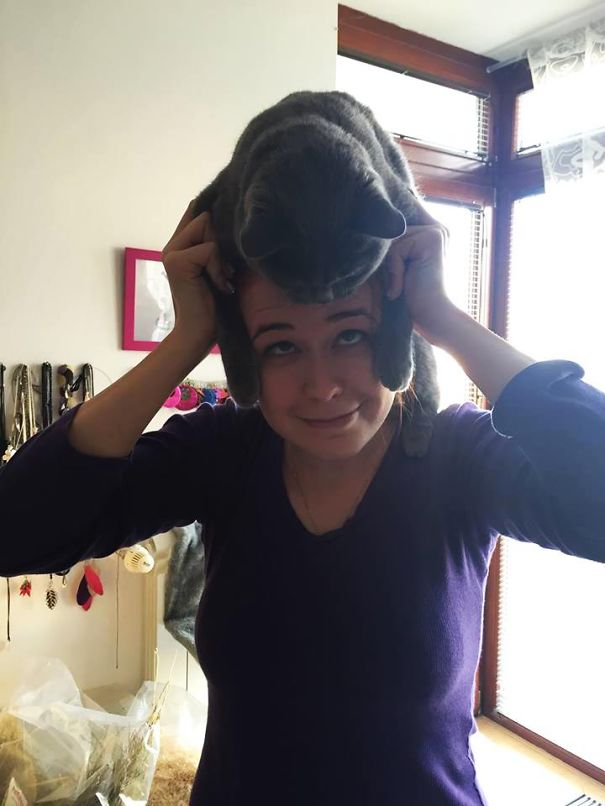 Lovely Gray Hat