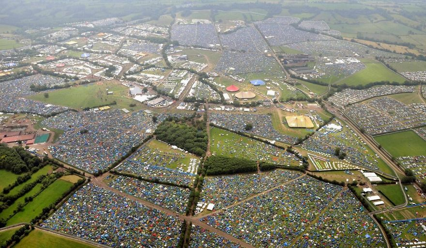 Glastonbury Festival Of Contemporary Arts - Pilton, Somerset, England