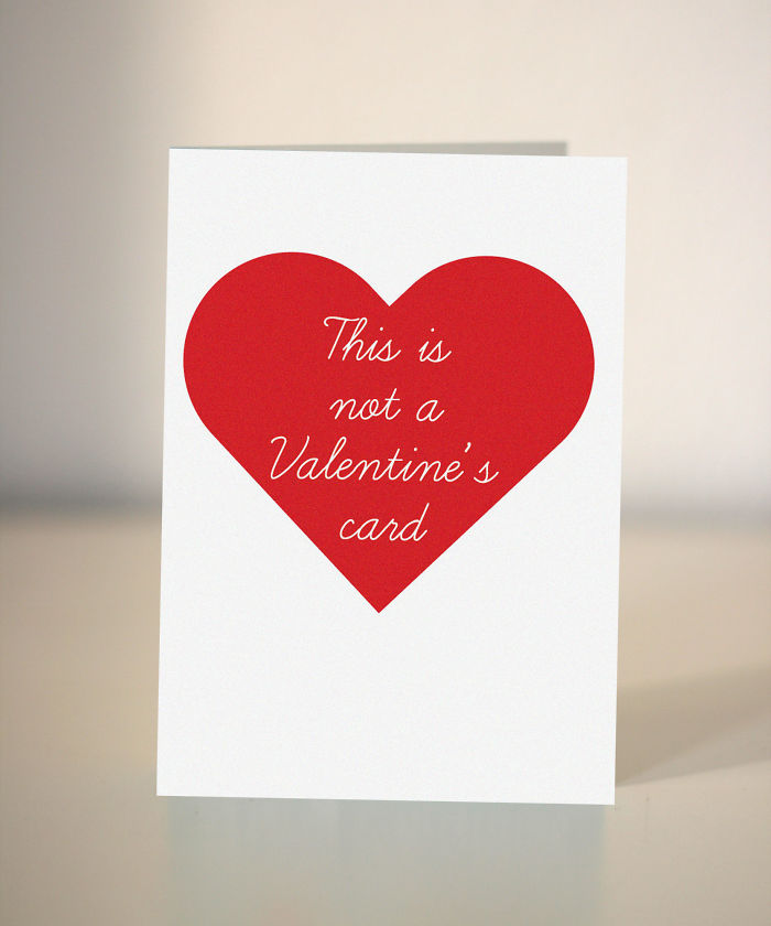 Anti - Valentine's Card - This Is Not A Valentine