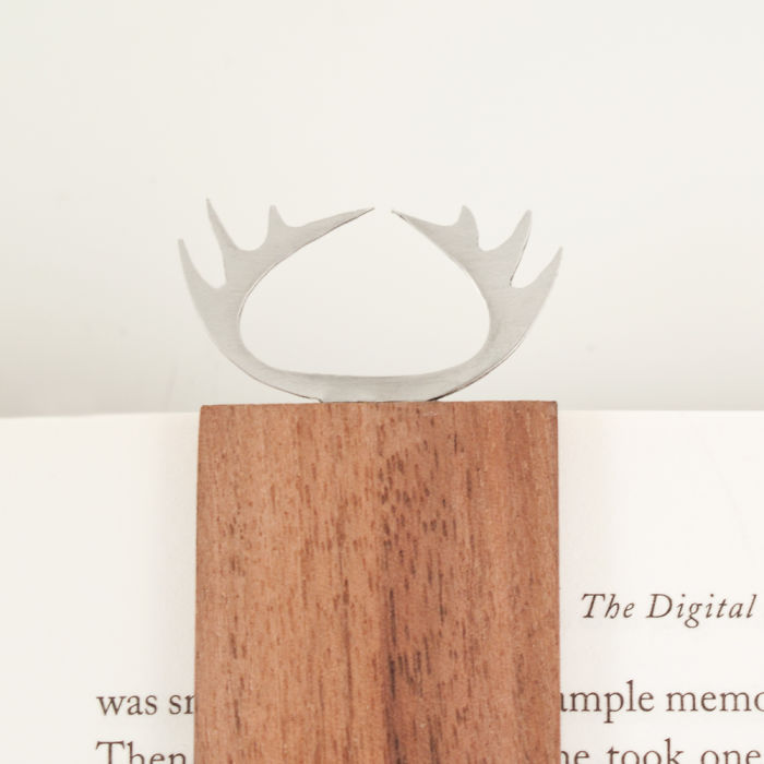 Personalized Gift Bookmark From Wood