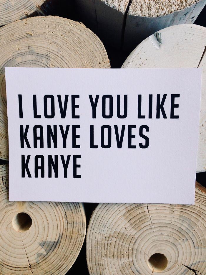 Like Kanye Loves Kanye