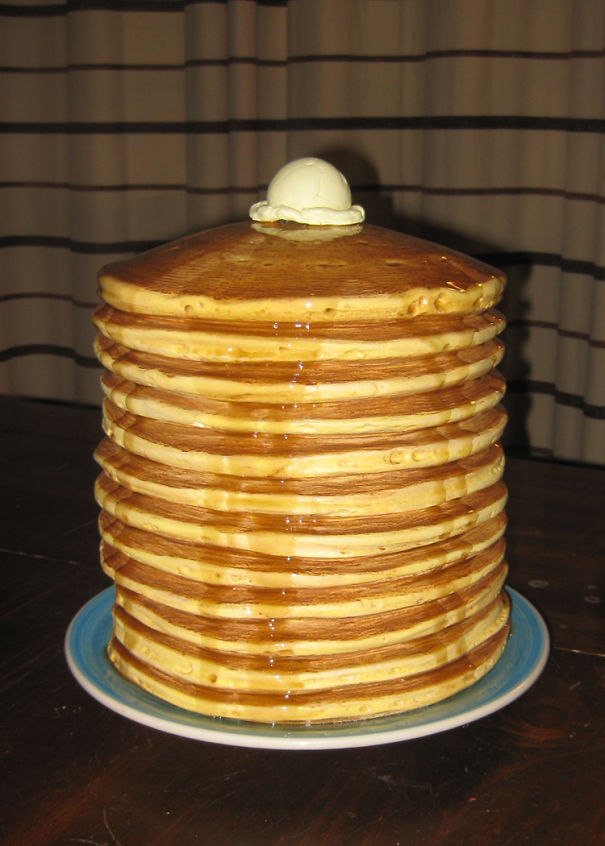 This Perfect Stack Of Pancakes.