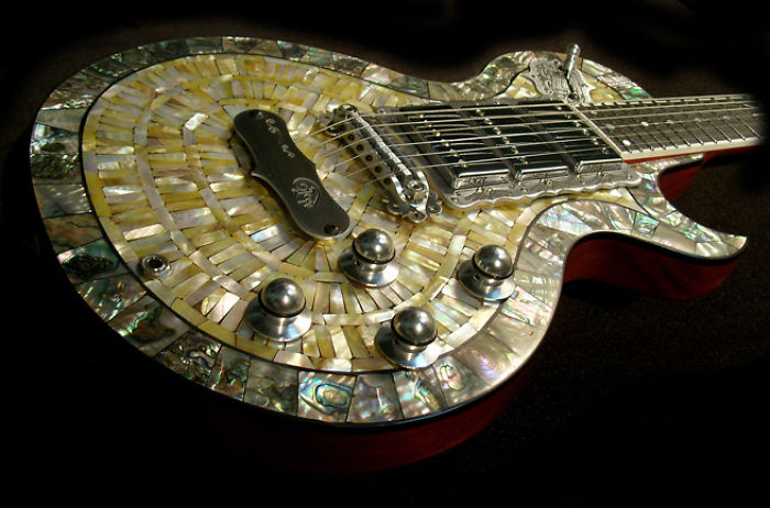 Awesome Hand Made Guitars And Basses , True Craftsmanship.