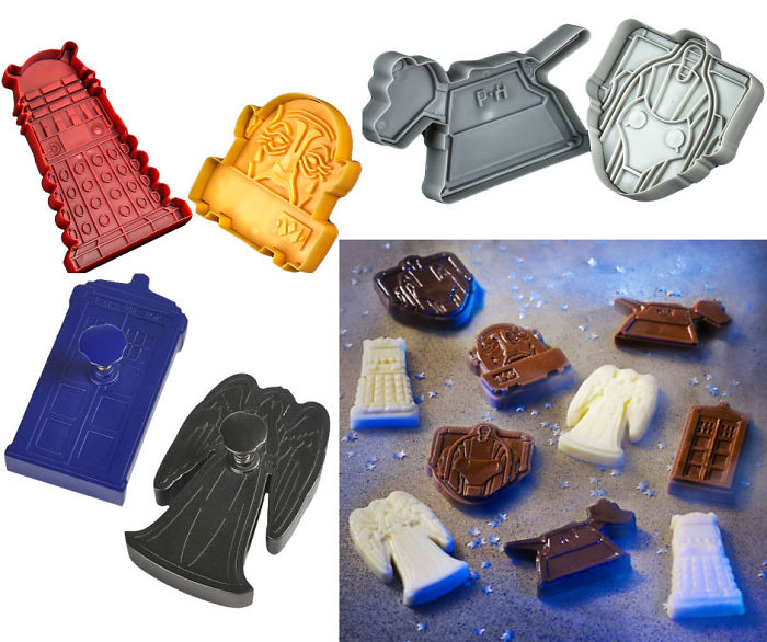 Dr Who Cookie & Chocolate Molds!