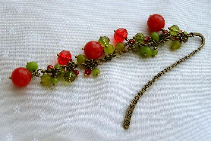"""My Handmade """"Very Berry"""" Bookmark"""