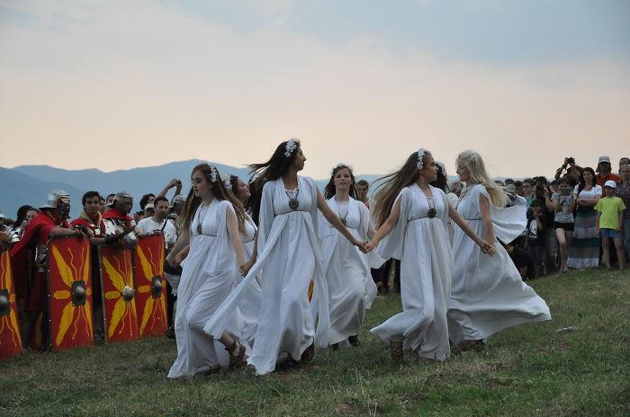 The Maiden Fair Of Mount Găina, Romania