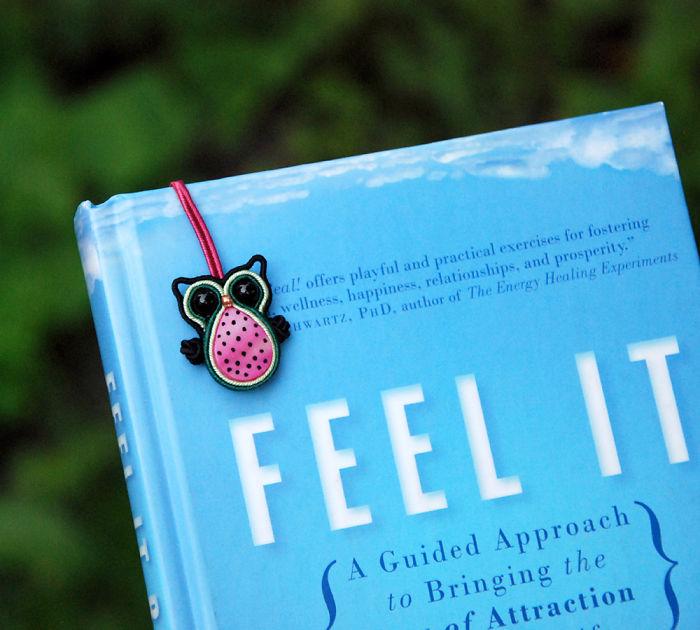 Watermelon Owl Bookmark