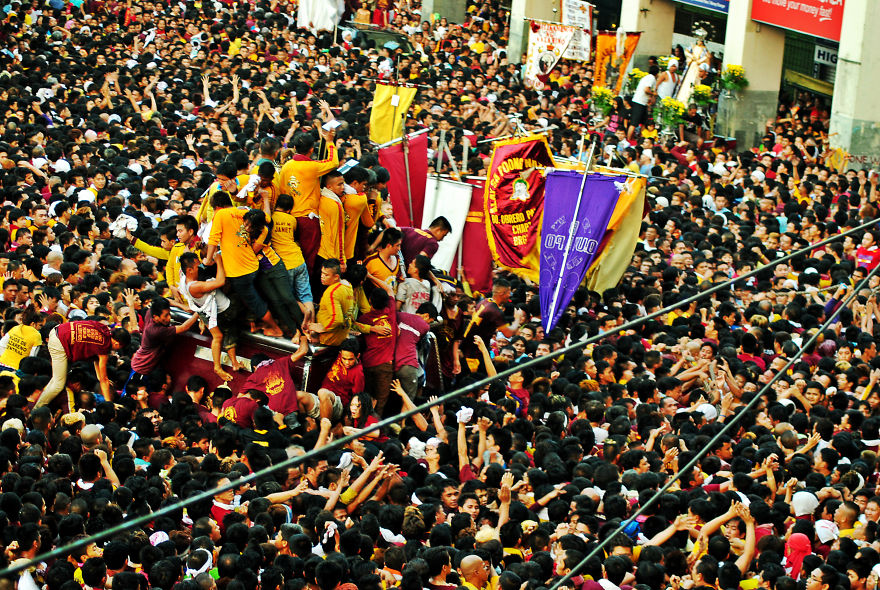 feasting in the philippines By plane: coming in to celebrate the feast of the black nazarene from another  country all you need to do is book a flight to manila and you're all set.