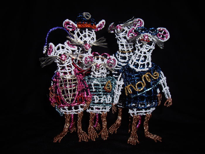 I Made An Entire Family Into Mice…wire Mice, That Is!