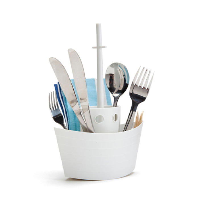 Cutlery And Napkin Holder