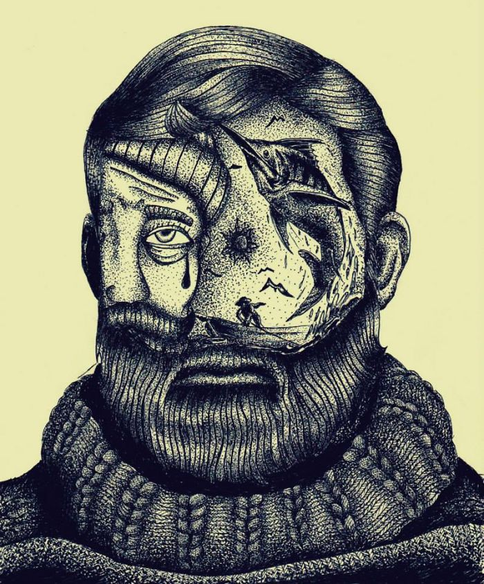 ارنست همینگوی - پیرمرد و دریا