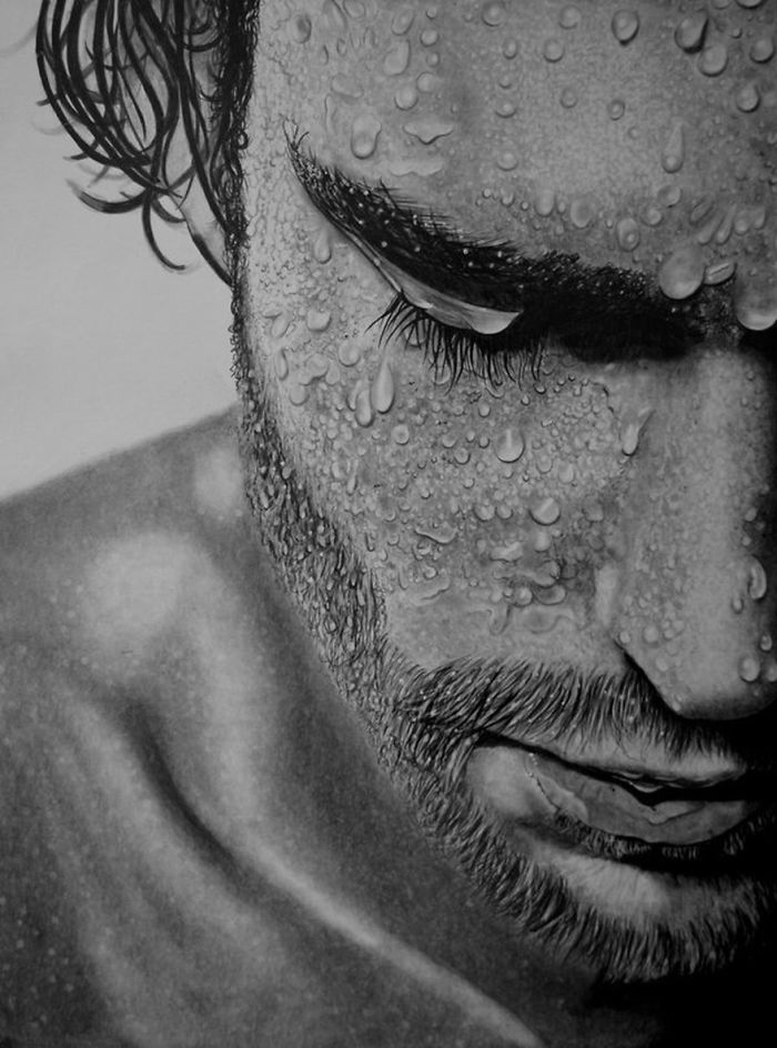 Fantastic Pencil Drawing Of Paul Shanghai