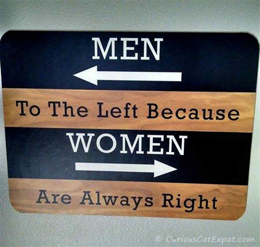 20 funny unique bathroom signs from around the world for Cool bathroom signs