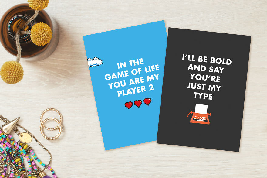 Geeky And Adorable Valentines Day Cards For A Science Nerd