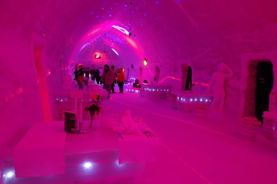 The Ice Hotel On Balea Lake Romania Bored Panda