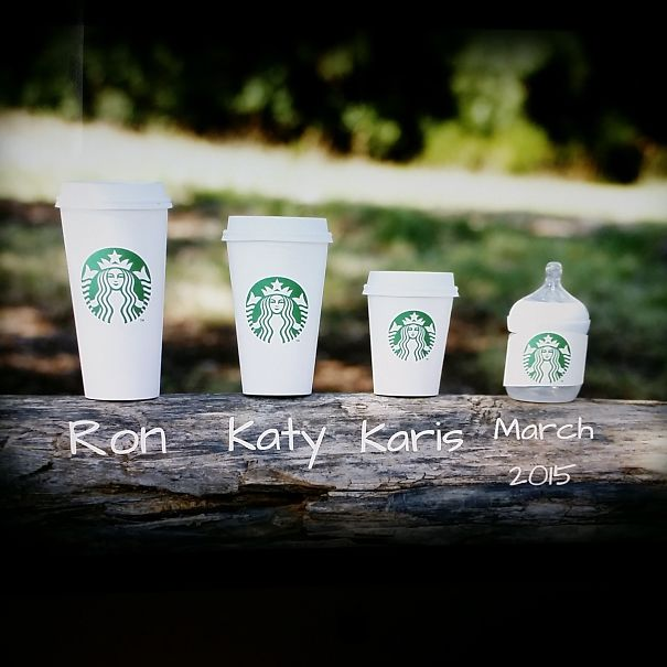 Starbucks... From A Barista Who's Wife Is Pregnant... :)