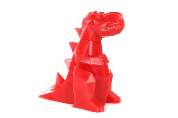 Dino T-rex Candle