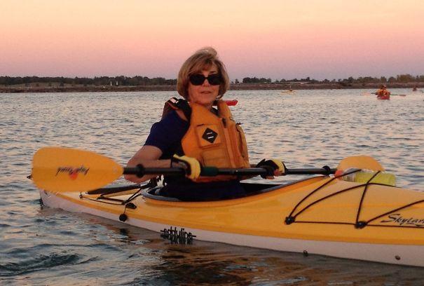 Julia Vona Took Up Kayaking At Age 68.