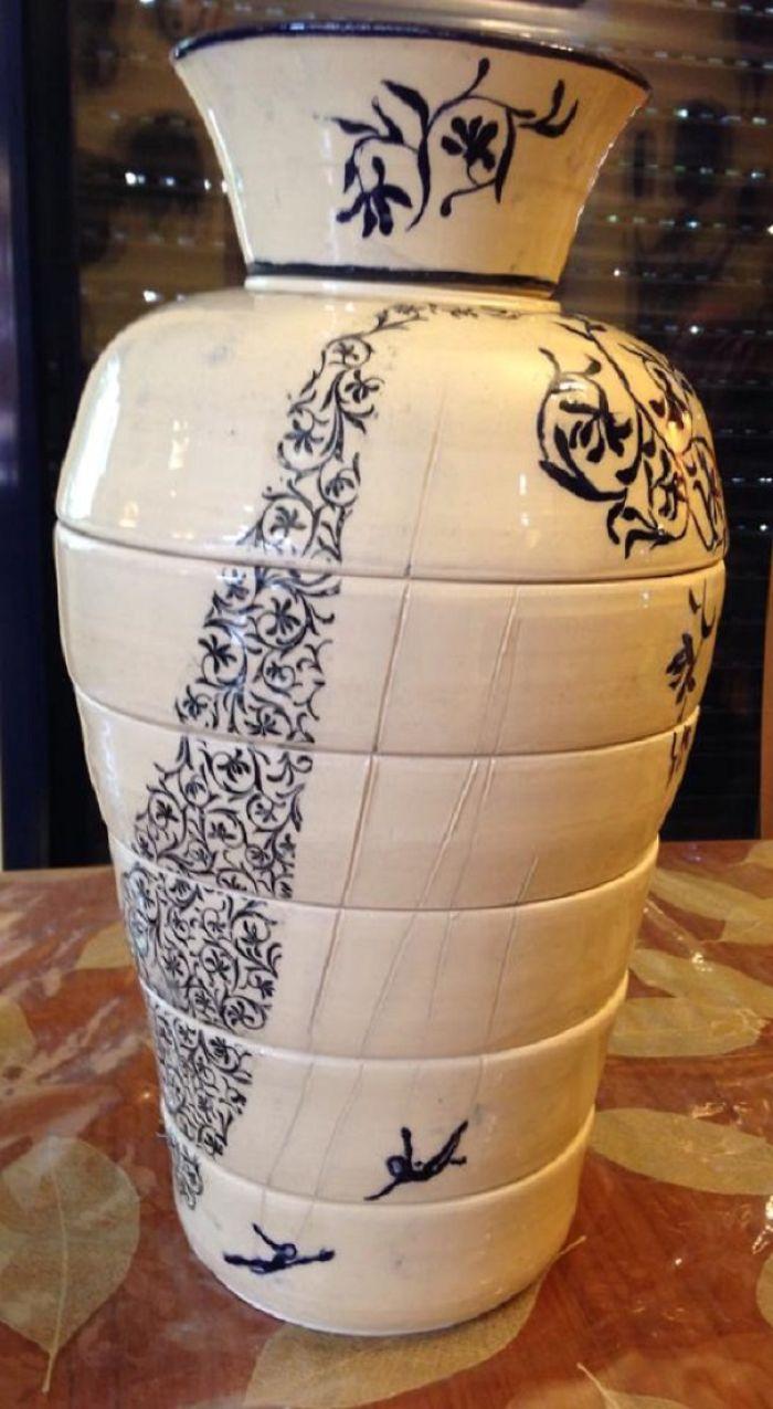 Lady Bomb Ceramic Challenge