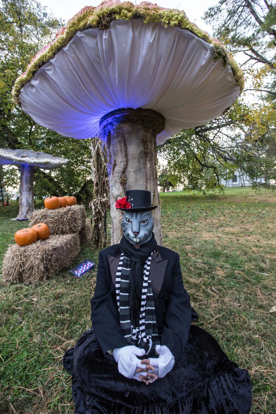Diy Mushroom Tent