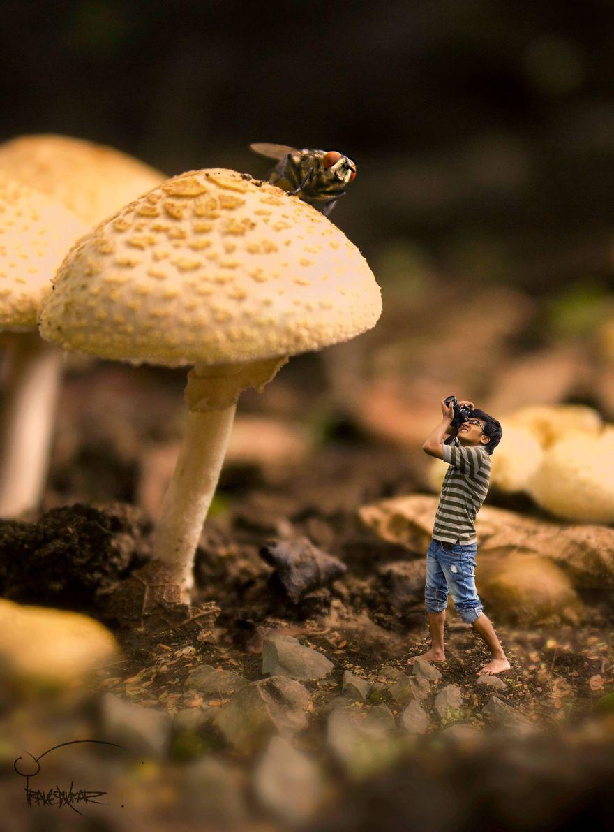 I Shrink Myself To Fit Into A Tiny World