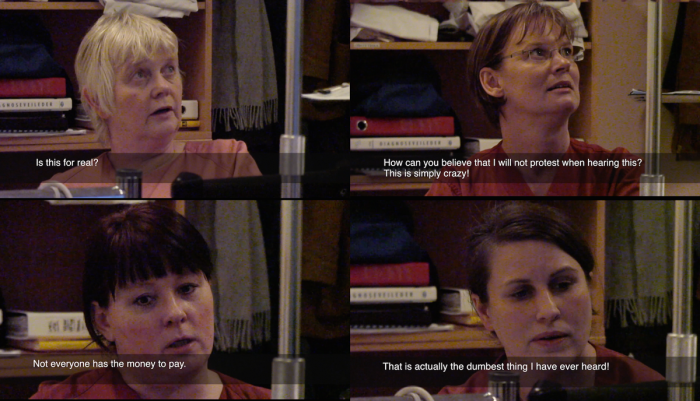 Norwegian Midwives Reacting To Birth Meter
