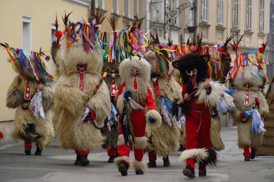 Kurentovanje, Winter Scareaway Festival (slovenia)