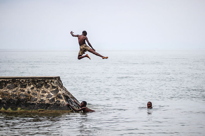 Flying Kids Of Lake Kivu, Rwanda