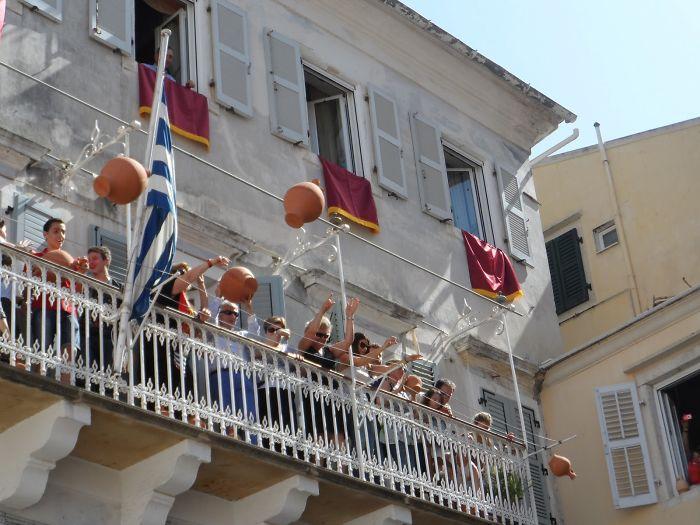 Pot Throwing Ceremony – Corfu, Greece
