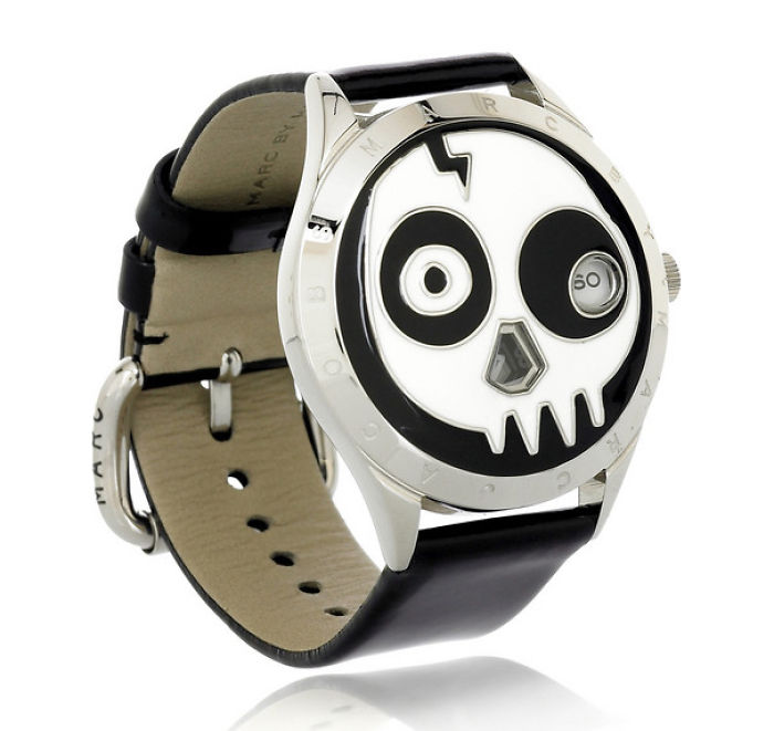 Skull Face Watch By Marc Jacobs