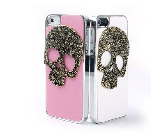 Fashion 3d Skull Hard Case For Iphone
