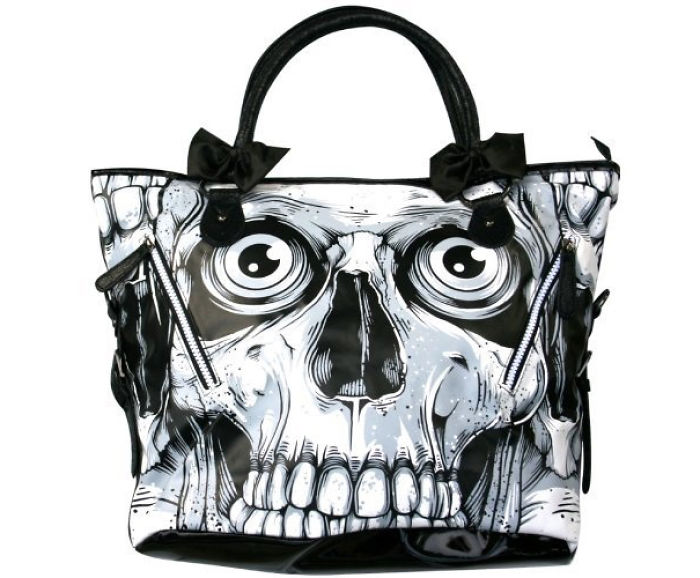 Skull-skeleton Handbag