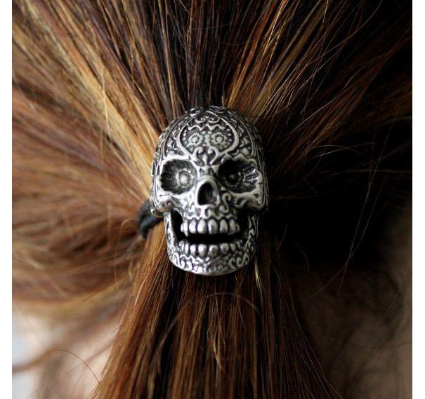 Skull Hair Clip