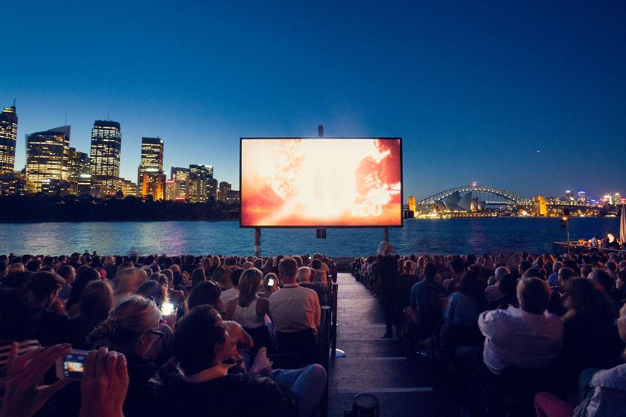 St.george Openair Cinema, Sydney