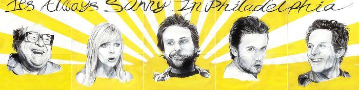 """""""it's Always Sunny In Philadelphia Poster"""" By Darien Rachelle"""