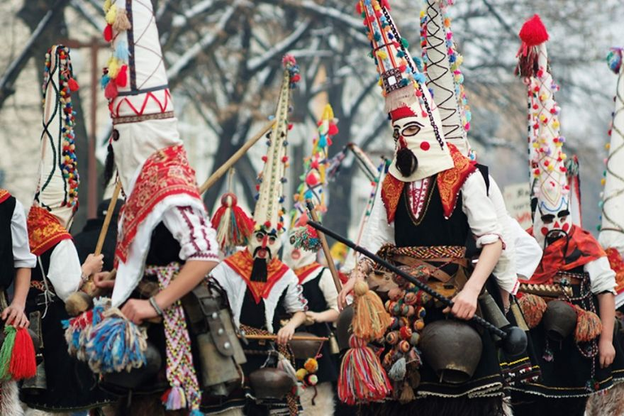 Surva, International Festival Of The Masquerade Games (bulgaria)