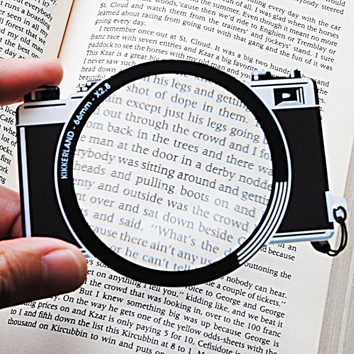 Magnifying Camera Bookmark