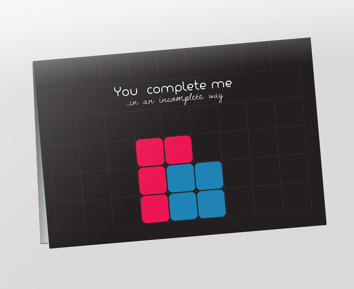 You Complete Me ...in An Incomplete Way