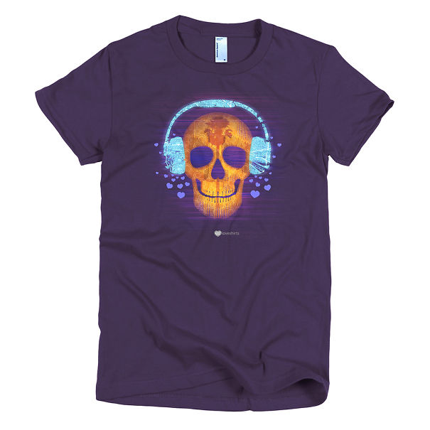 Music Map Skull