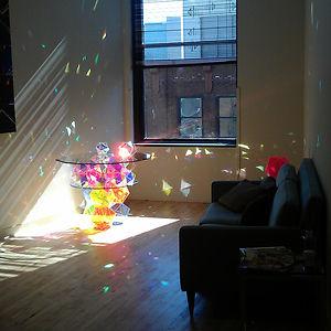 Sparkling Prism Table