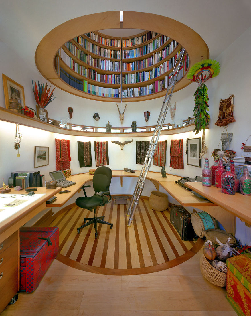 3 Ceiling Library 22 Stunning Interior Design Ideas That Will Take Your House To