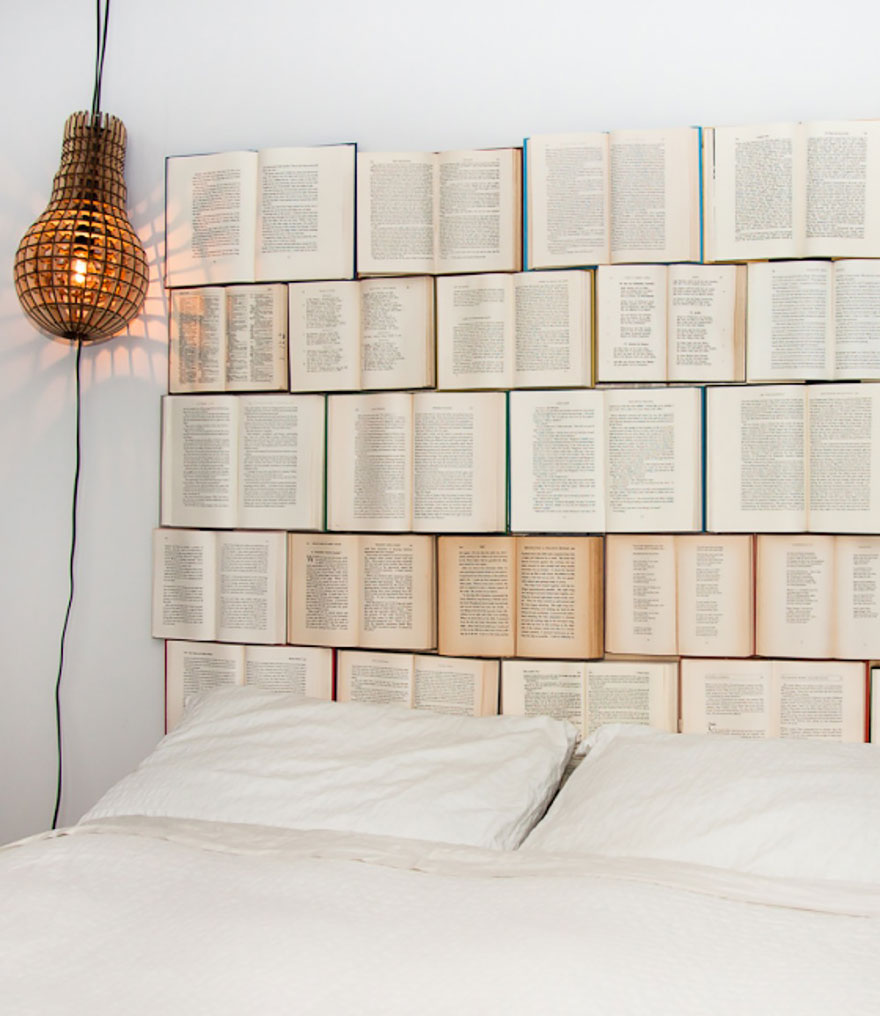 Headboard For Book Lovers