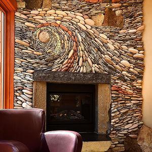Beautiful Rock Wall Art