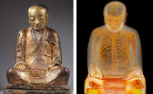 CT Scans Reveal 1,000-Year-Old Mummy Of Chinese Monk Hidden Inside Ancient Buddhist Statue